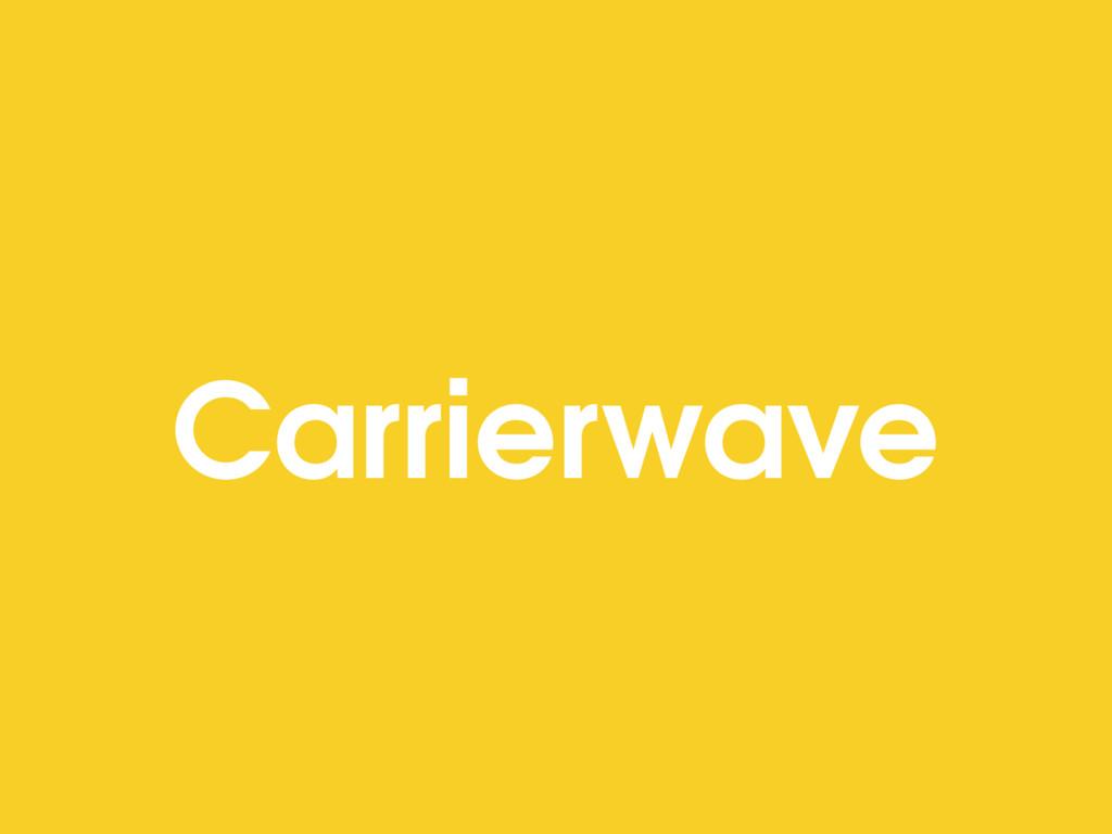 Carrierwave