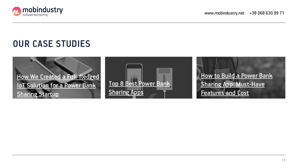 OUR CASE STUDIES How We Created a Full-fledged ...