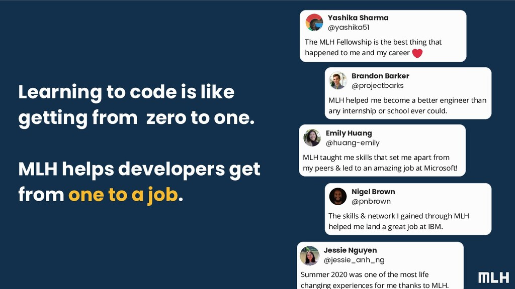 Learning to code is like getting from zero to o...