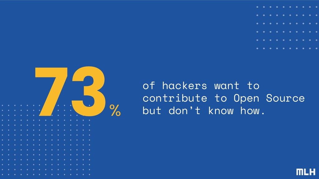 73 % of hackers want to contribute to Open Sour...