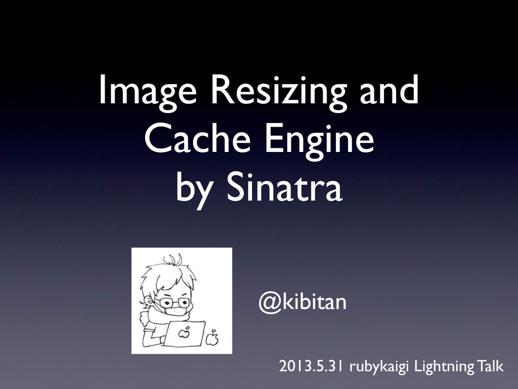 Image Resizing and Cache Engine by Sinatra @kib...
