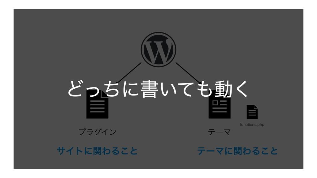 ϓϥάΠϯ ςʔϚ functions.php ςʔϚʹؔΘΔ͜ͱ αΠτʹؔΘΔ͜ͱ Ͳͬͪ...