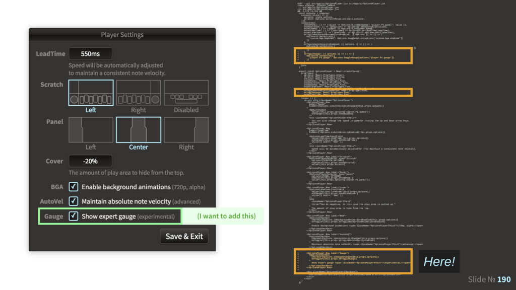 Slide № 190 diff --git src/app/ui/OptionsPlayer...