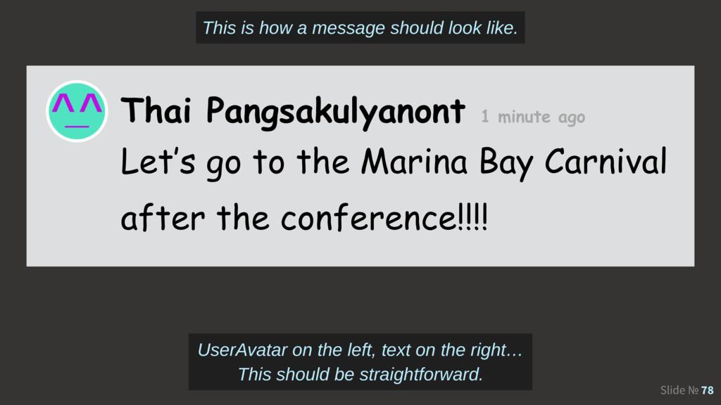 Slide № 78 Thai Pangsakulyanont 1 minute ago Le...