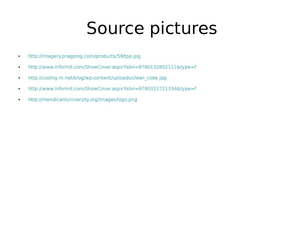 Source pictures ● http://imagery.pragprog.com/p...