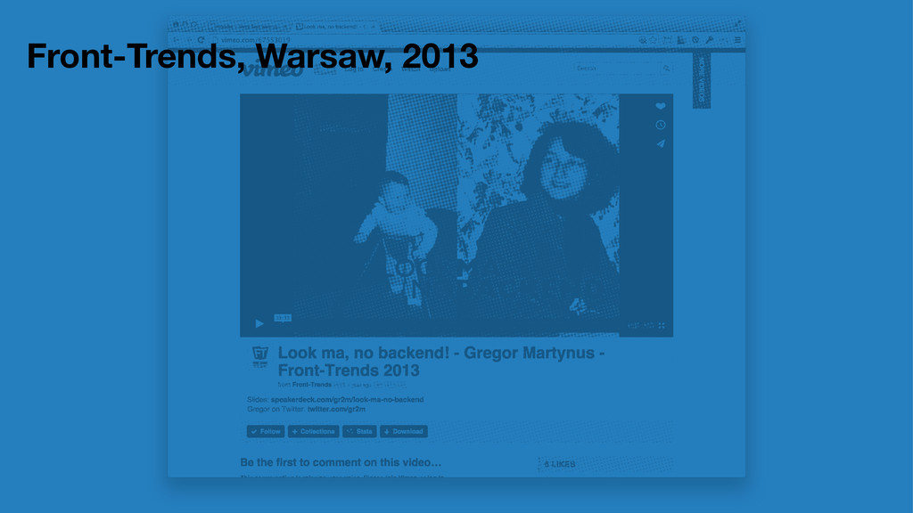 Front-Trends, Warsaw, 2013