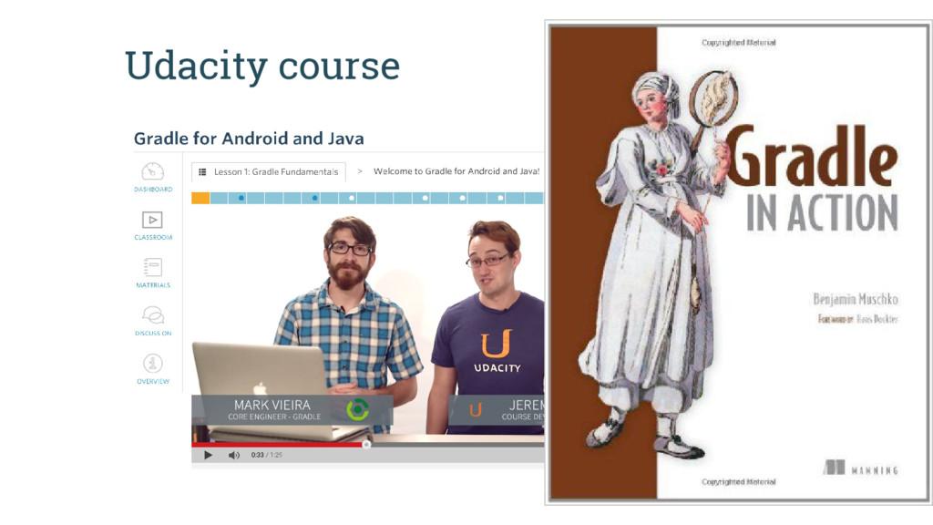 Udacity course