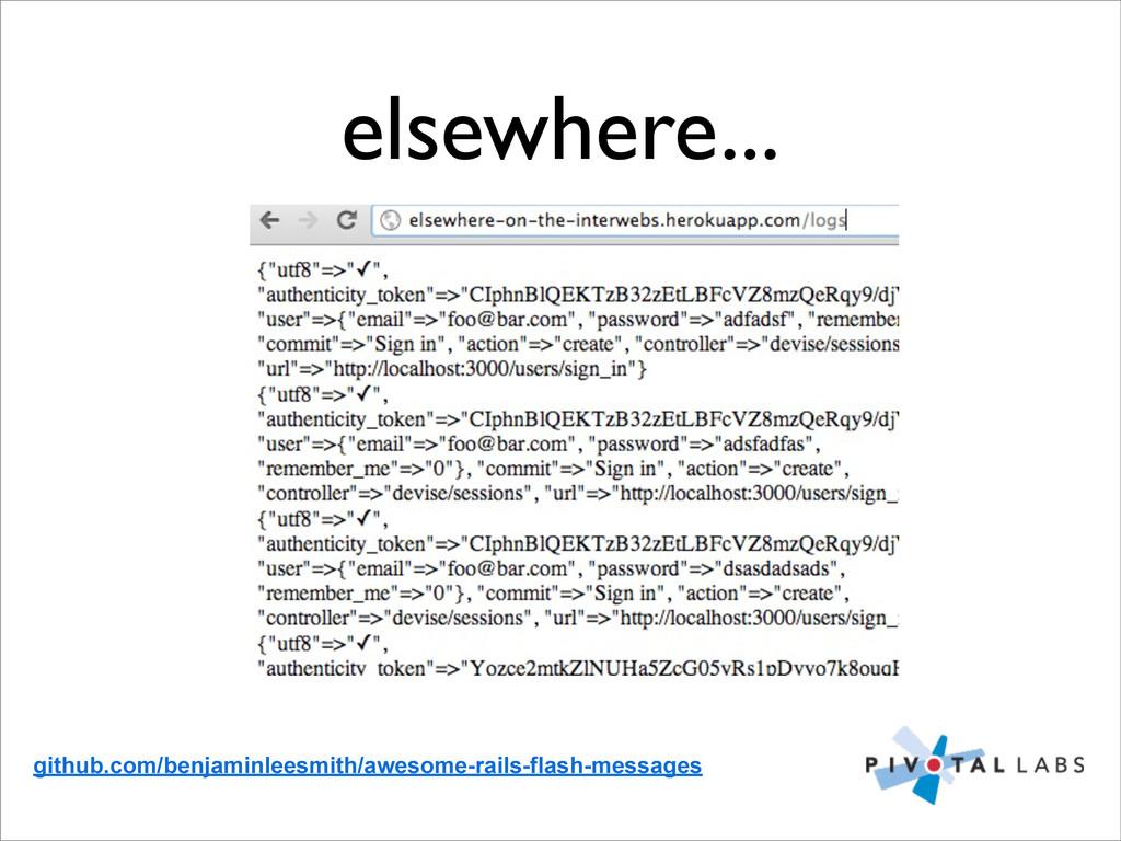 elsewhere... github.com/benjaminleesmith/awesom...