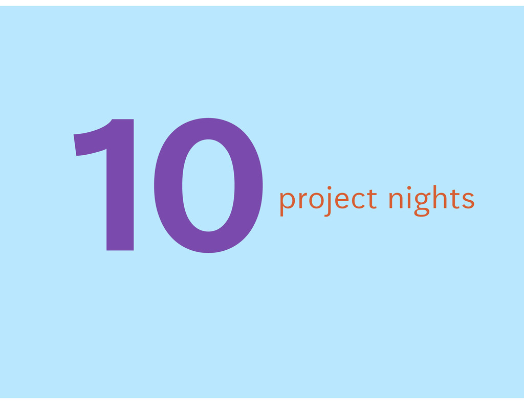 """#project nights"