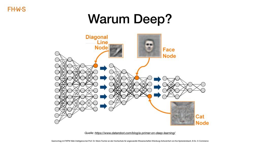 Gastvortrag im FWPM Web Intelligence bei Prof. ...