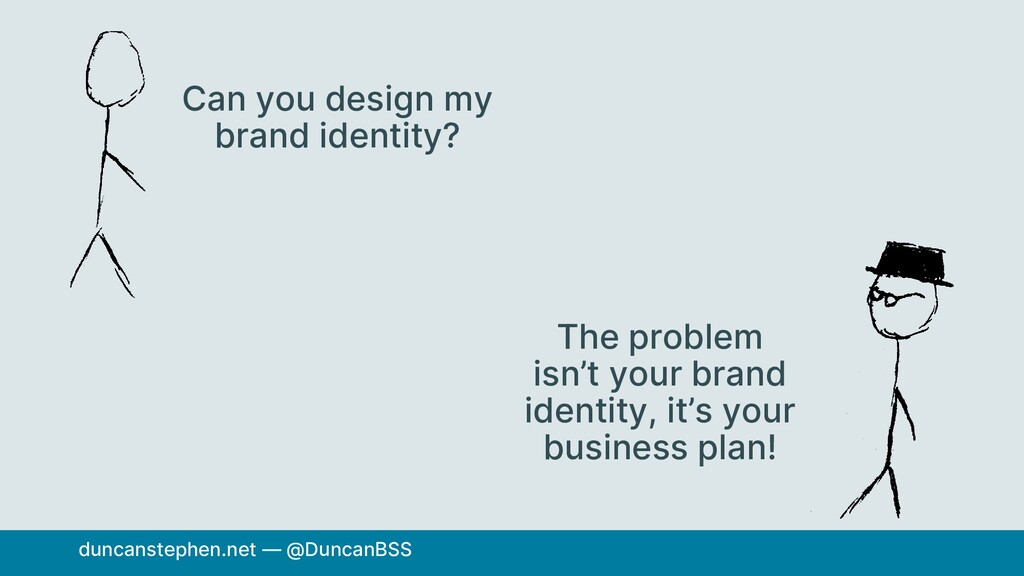 Can you design my brand identity? The problem i...