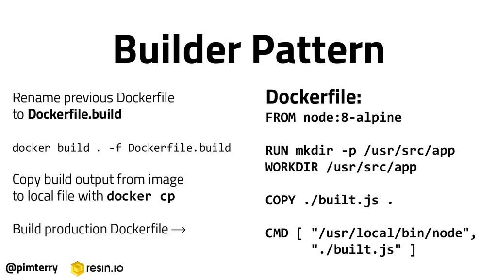 Rename previous Dockerfile to Dockerfile.build ...