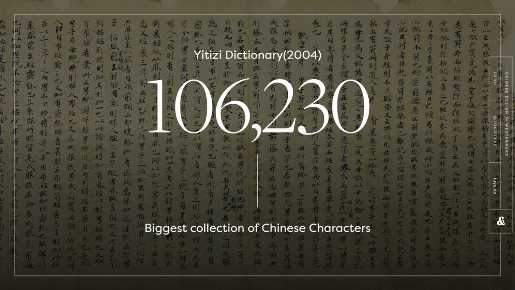 106,230 Yitizi Dictionary(2004) Biggest collect...