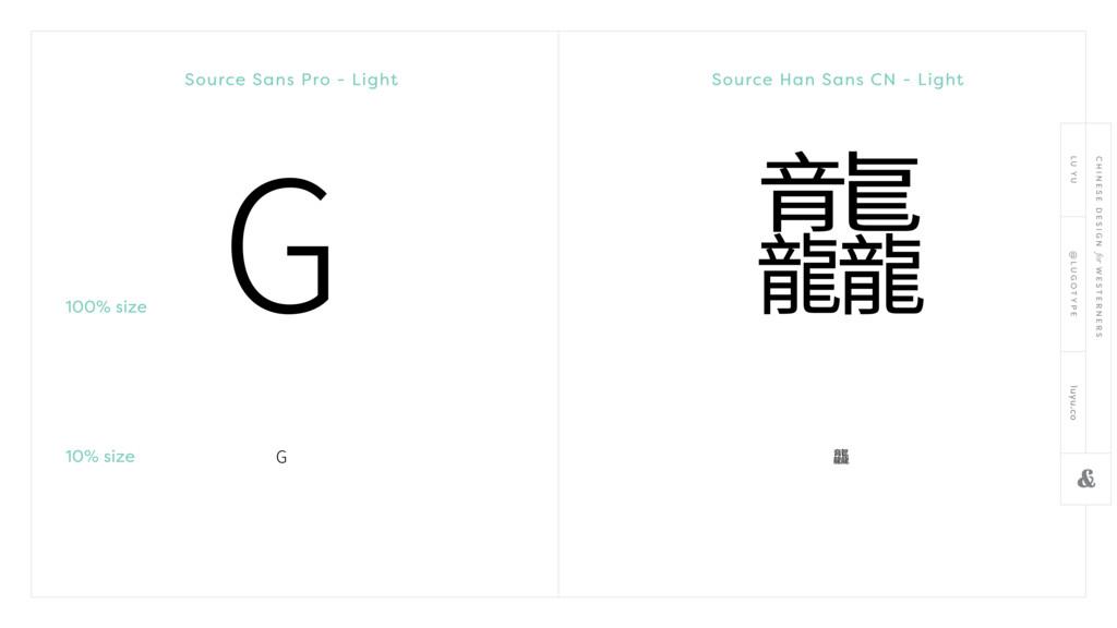 Source Sans Pro - Light Source Han Sans CN - Li...