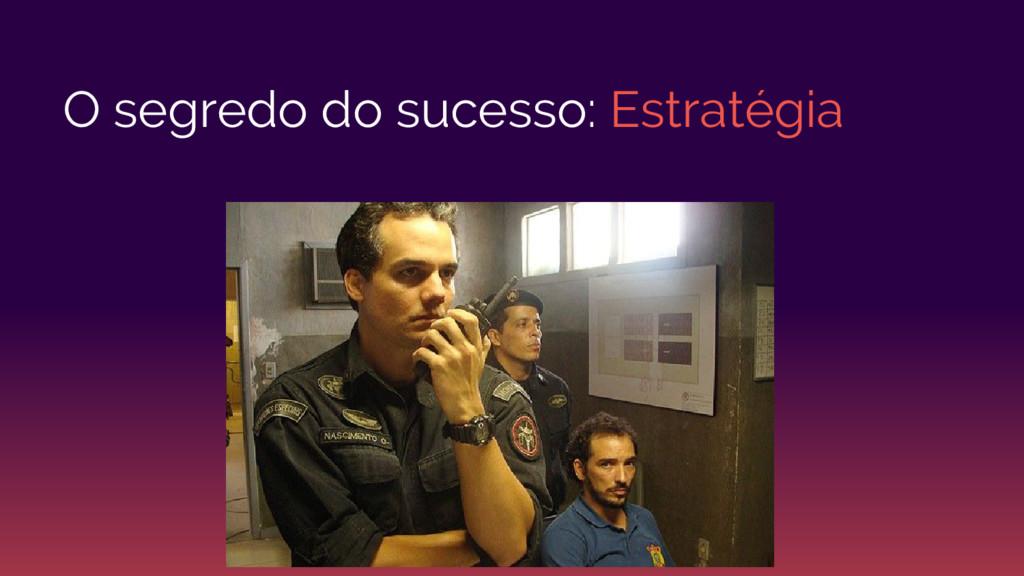 O segredo do sucesso: Estratégia