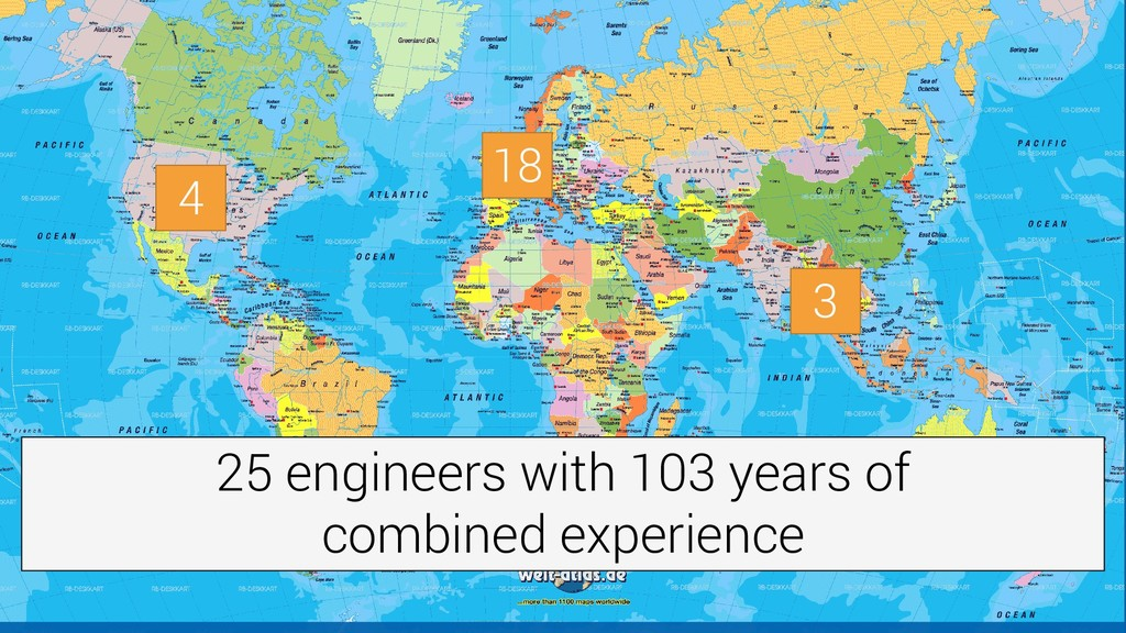 4 3 18 25 engineers with 103 years of combined ...