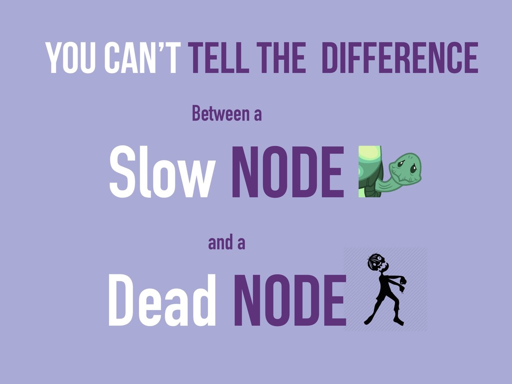 You can't tell the DIFFERENCE Between a Slow NO...