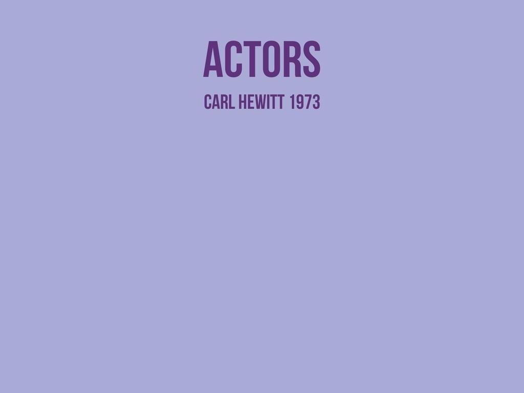 actors Carl HEWITT 1973