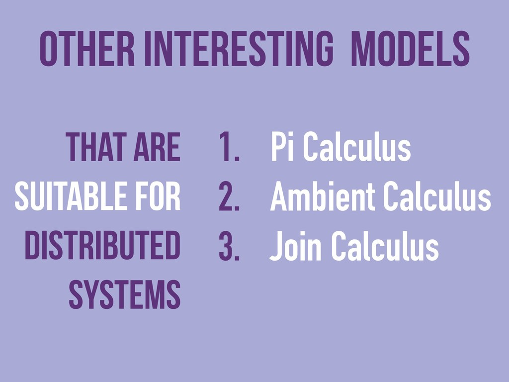 other interesting models That are suitable for ...