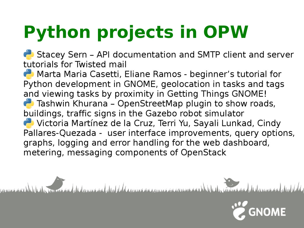 Python projects in OPW Stacey Sern – API docume...