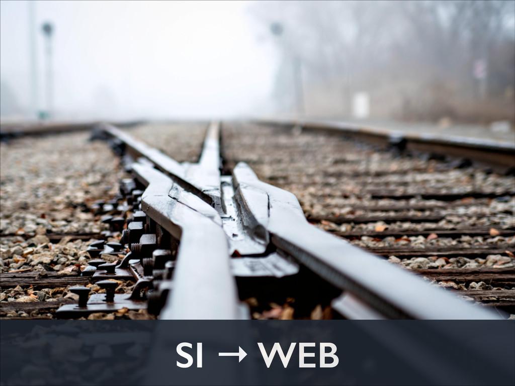 SI → WEB