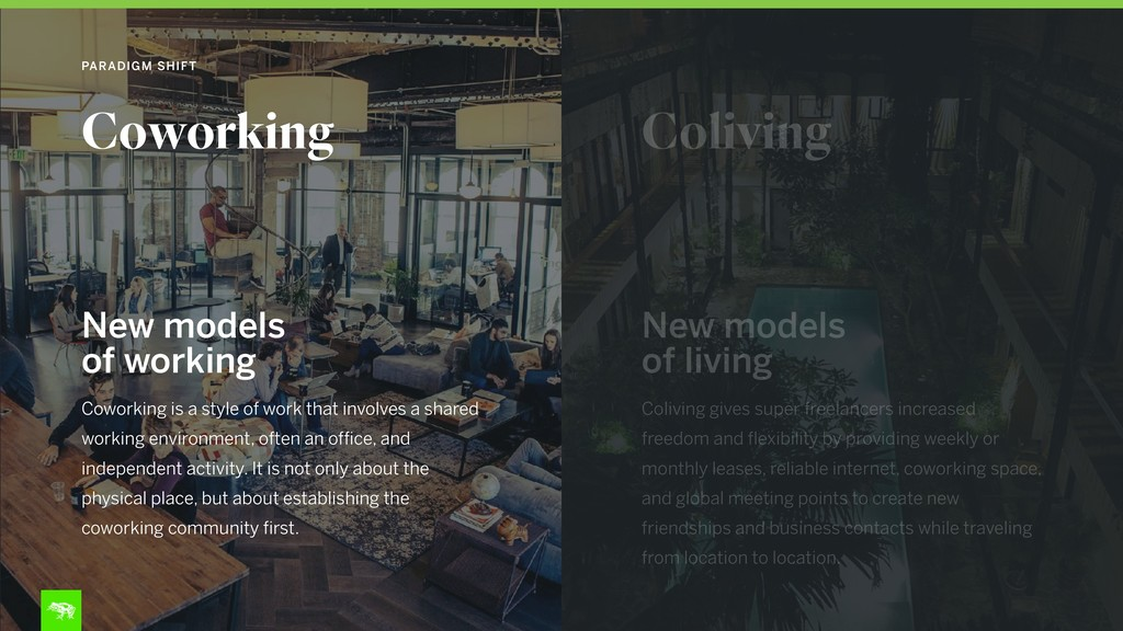 Coworking is a style of work that involves a sh...