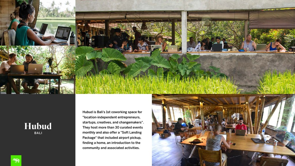 """Hubud Hubud is Bali's 1st coworking space for """"..."""