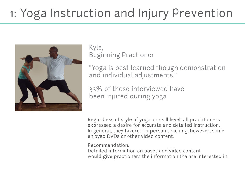 1: Yoga Instruction and Injury Prevention Regar...