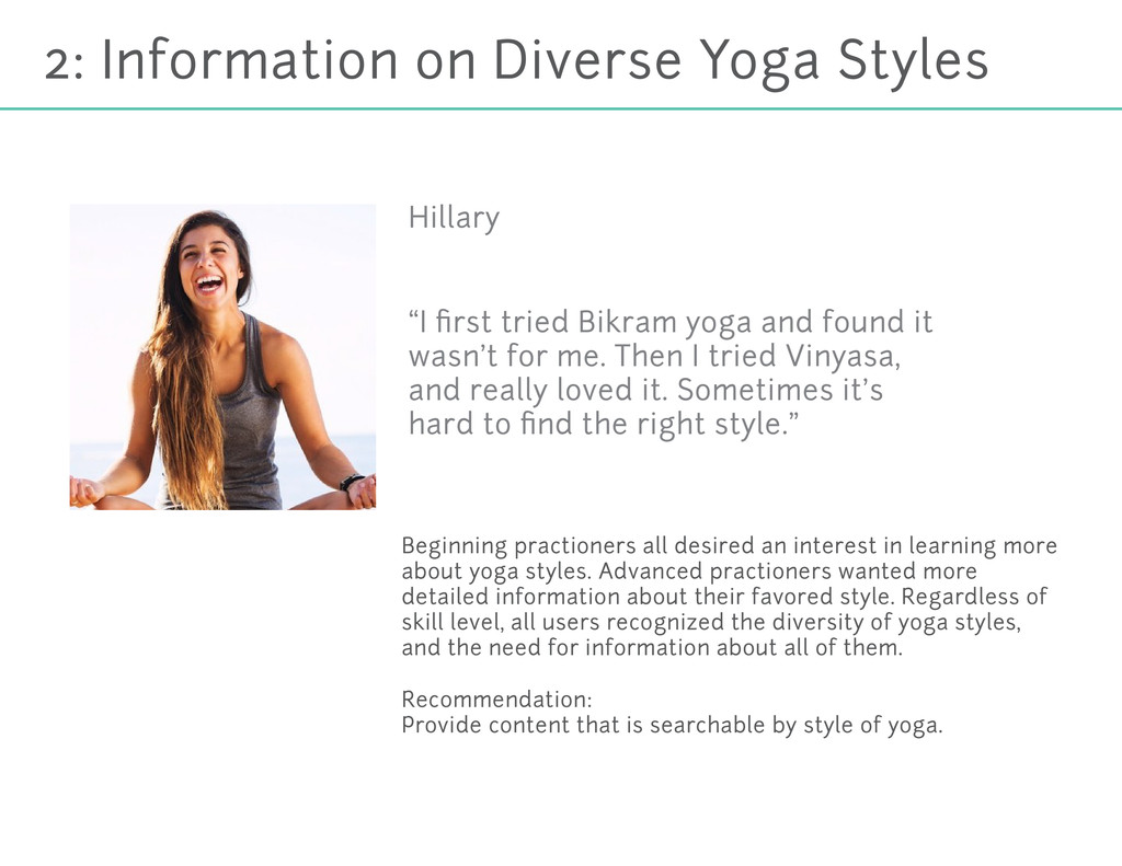 2: Information on Diverse Yoga Styles Beginning...