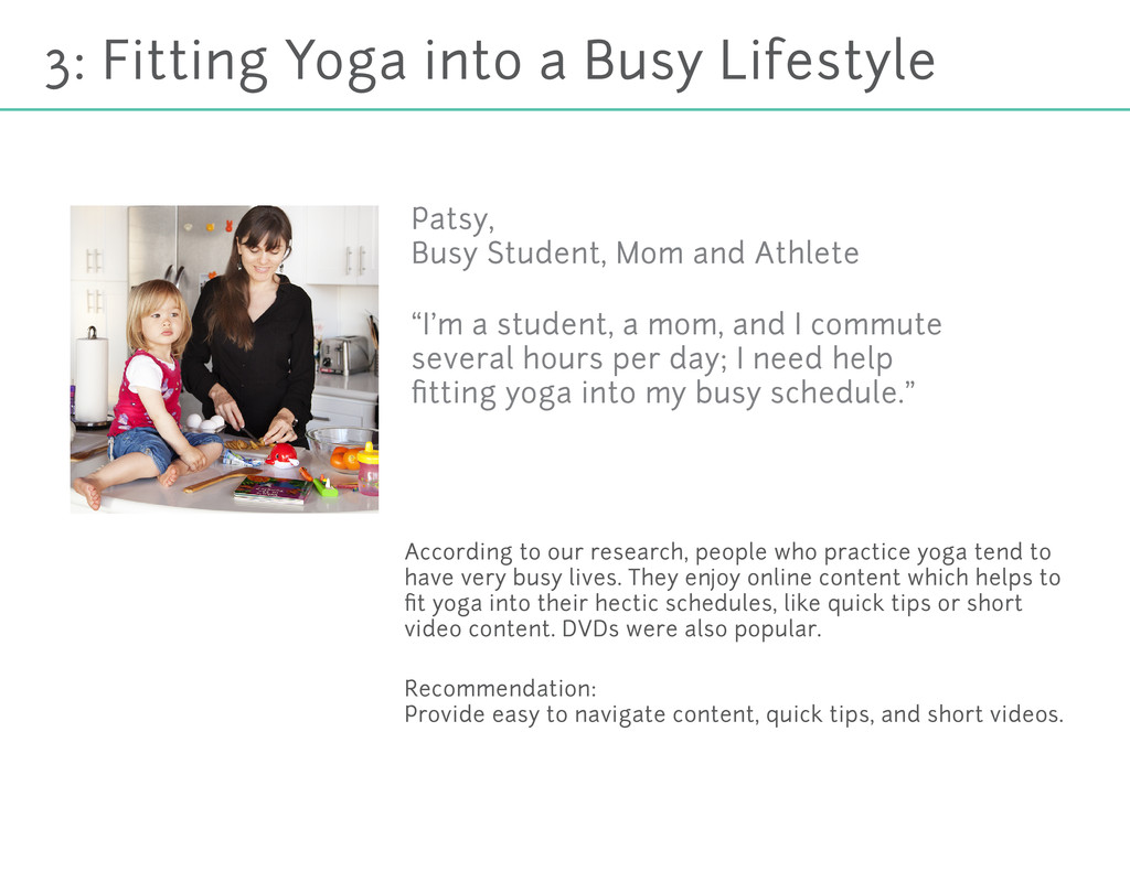 3: Fitting Yoga into a Busy Lifestyle According...