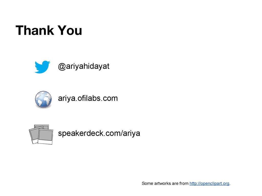 Thank You @ariyahidayat ariya.ofilabs.com speak...