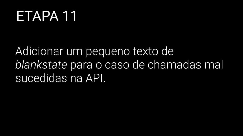 ETAPA 11 Adicionar um pequeno texto de blanksta...