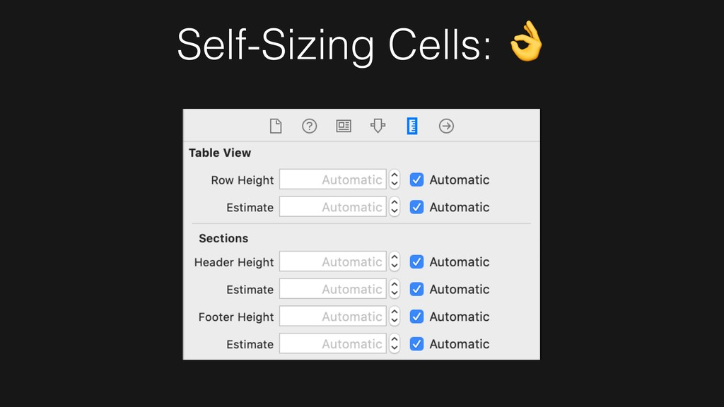Self-Sizing Cells: