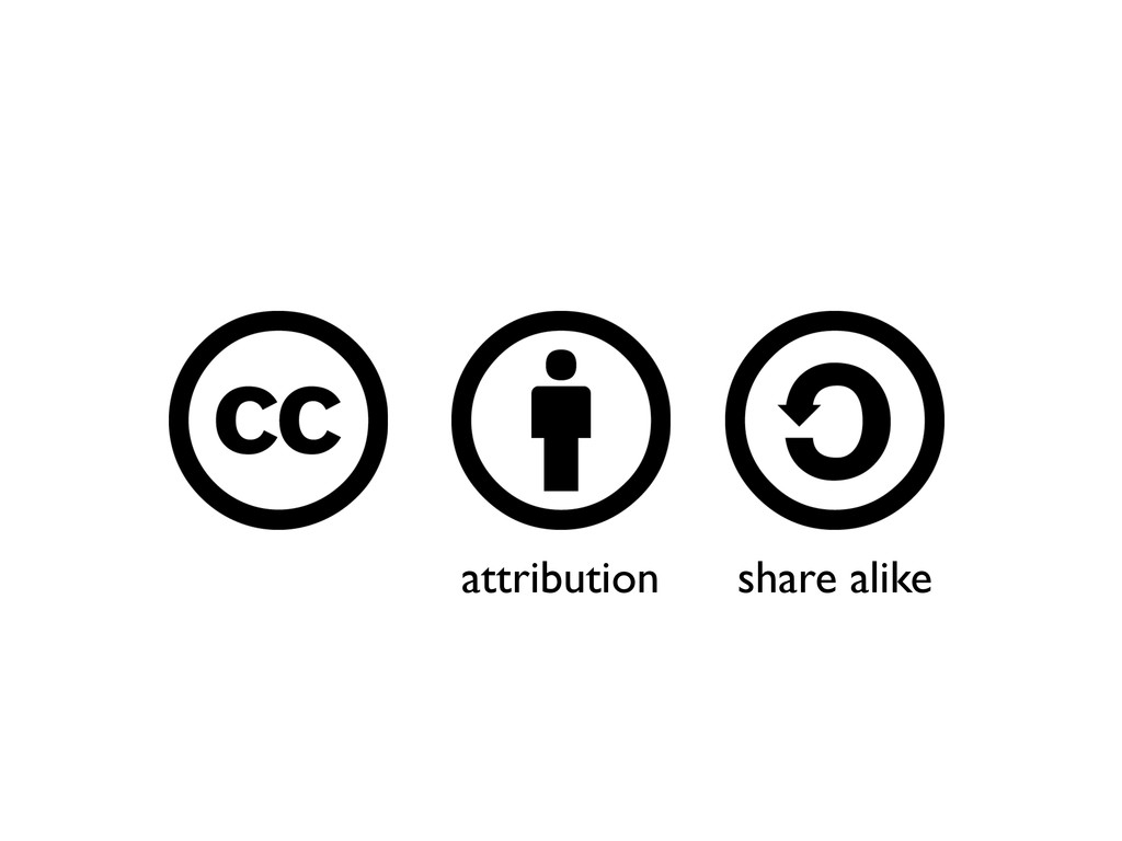 attribution share alike