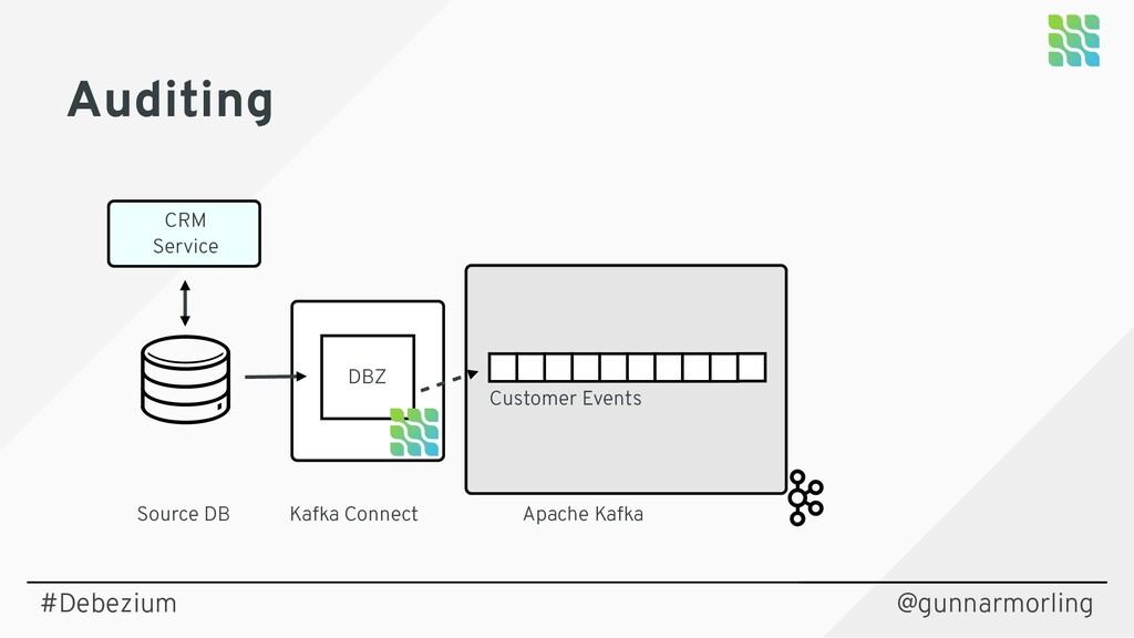 @gunnarmorling Auditing Source DB Kafka Connect...