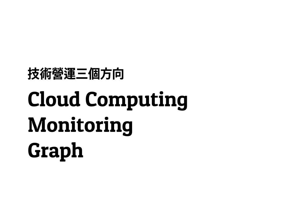 ᘤខᡦᓈ෪ፖḟ Cloud Computing Monitoring Graph