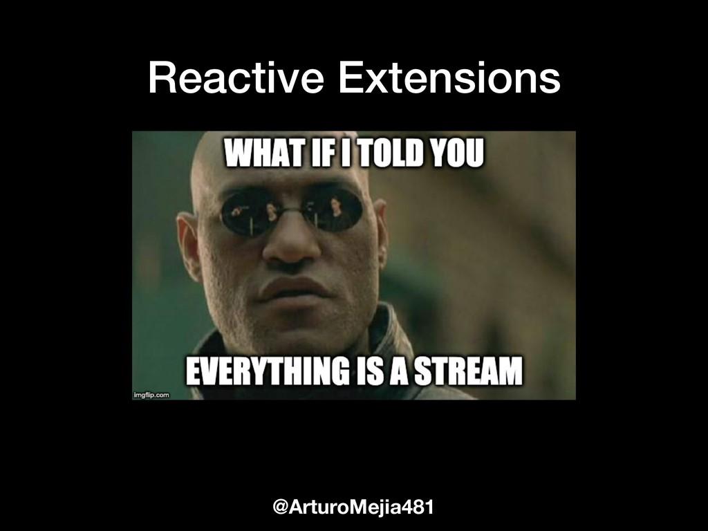 @ArturoMejia481 Reactive Extensions