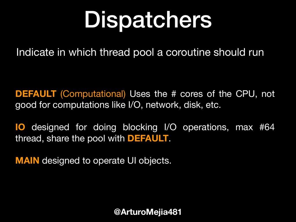 Dispatchers @ArturoMejia481 DEFAULT (Computatio...