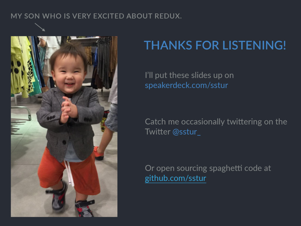 THANKS FOR LISTENING! MY SON WHO IS VERY EXCITE...