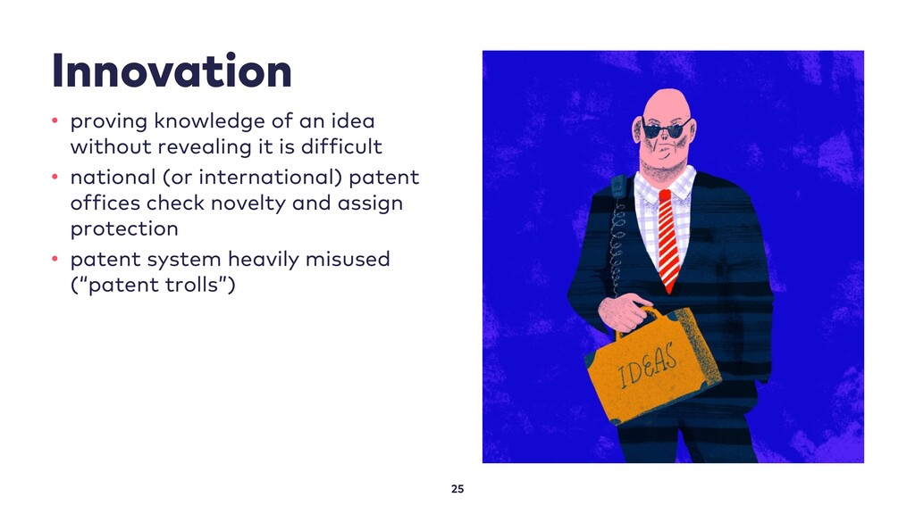 Innovation 25 • proving knowledge of an idea wi...