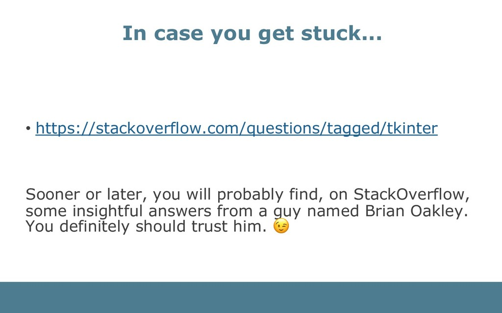 • https://stackoverflow.com/questions/tagged/tk...