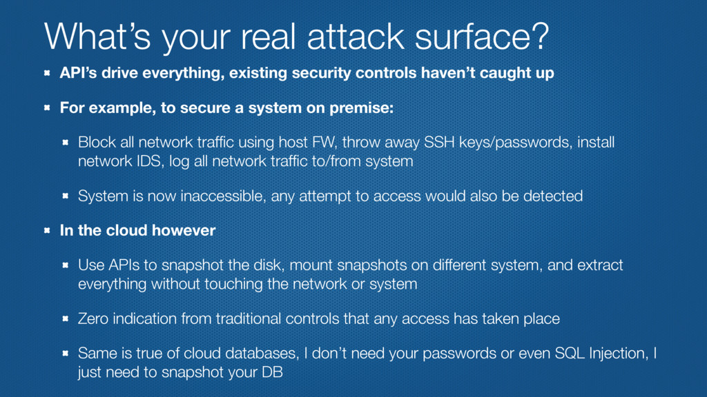 What's your real attack surface? API's drive ev...