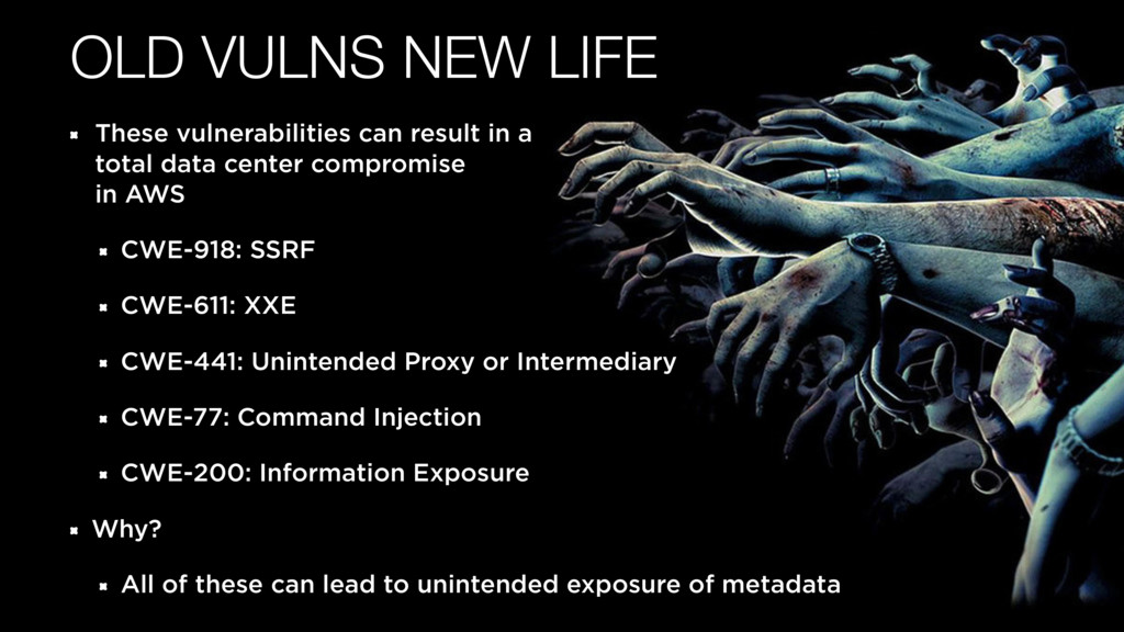 OLD VULNS NEW LIFE These vulnerabilities can re...