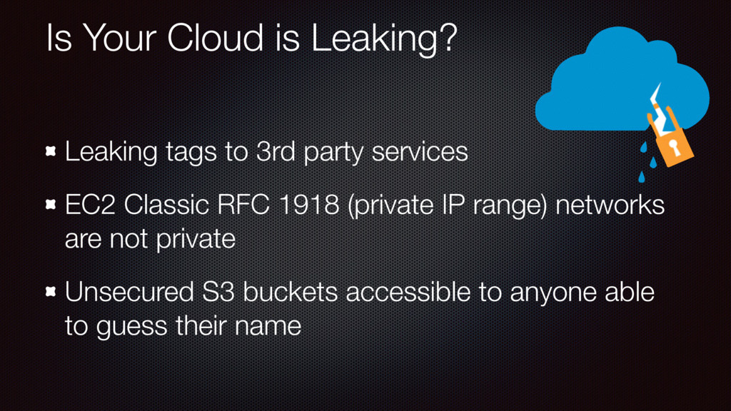 Is Your Cloud is Leaking? Leaking tags to 3rd p...