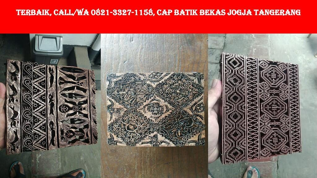 TERBAIK, Call/WA 0821-3327-1158, Cap Batik Beka...