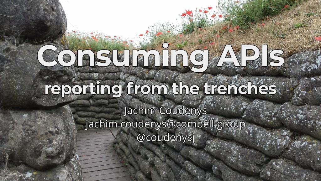 Consuming APIs Consuming APIs Consuming APIs Co...