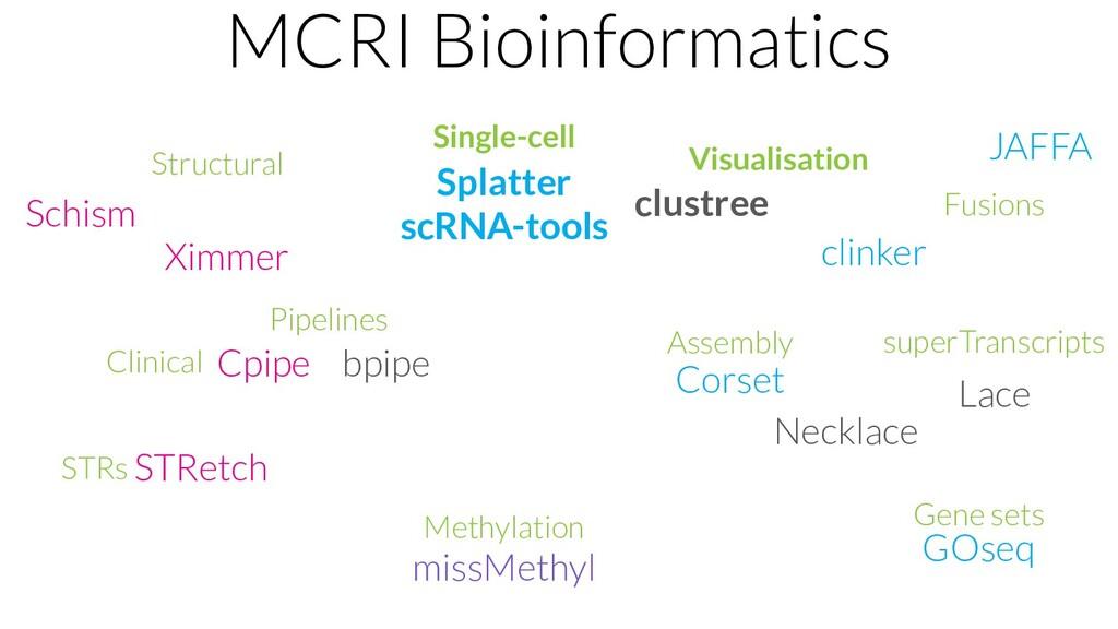 MCRI Bioinformatics bpipe Corset Lace Necklace ...