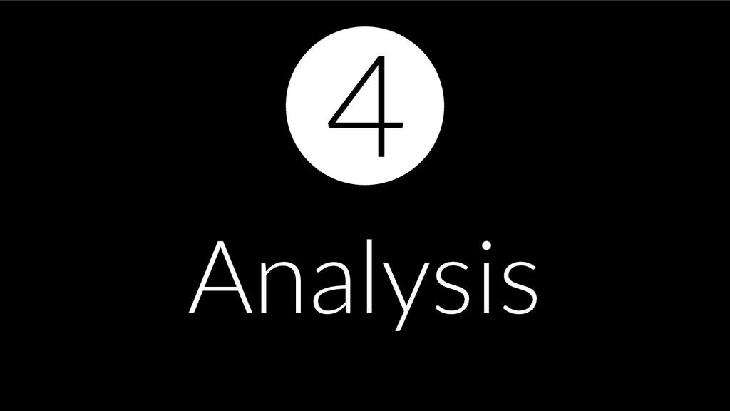 Analysis 4