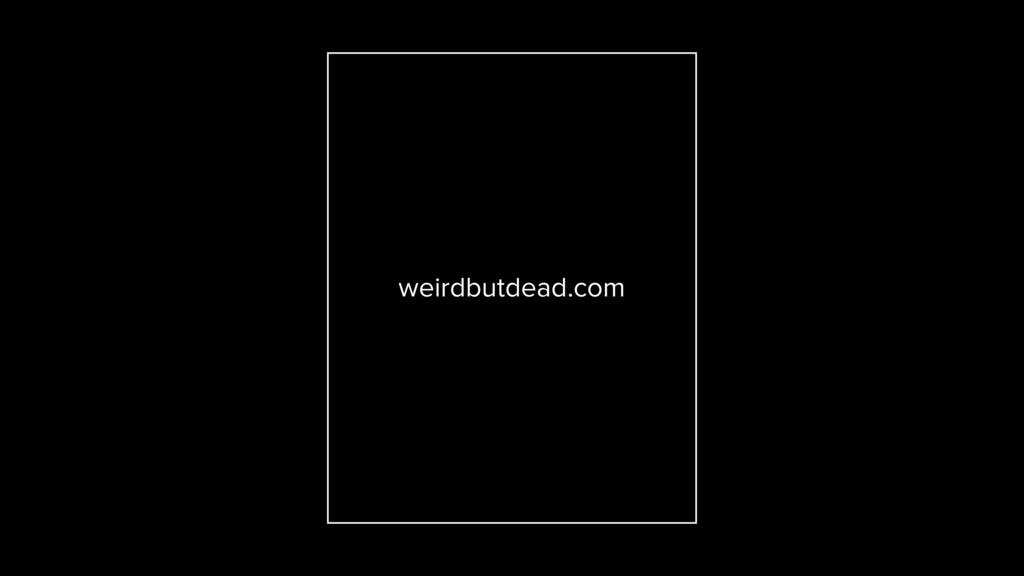 weirdbutdead.com