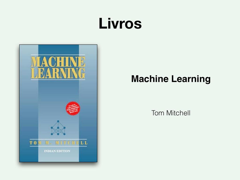 Livros Machine Learning Tom Mitchell